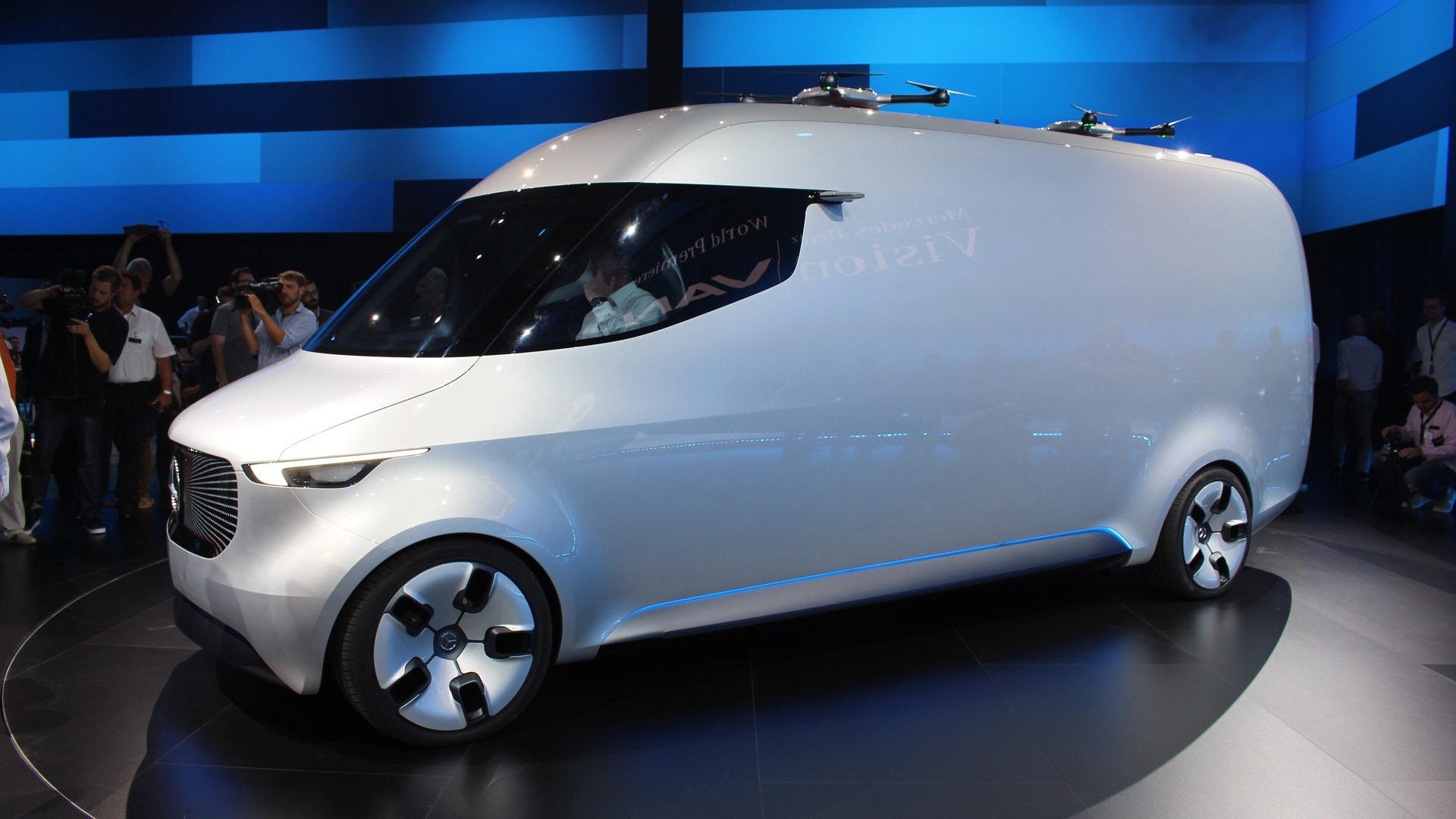 Mercedes Benz Commercial Van >> Mercedes Vision Van concept marks renewed focus on commercial vehicles