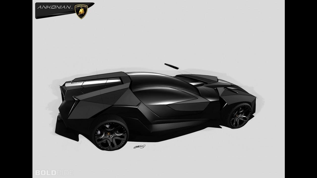 Lamborghini ankonian concept interior lamborghini - Lamborghini Ankonian Concept Interior Lamborghini 36