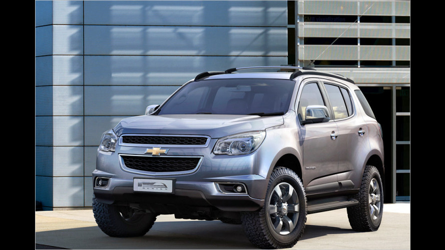Chevrolet präsentiert neues Mittelklasse-SUV