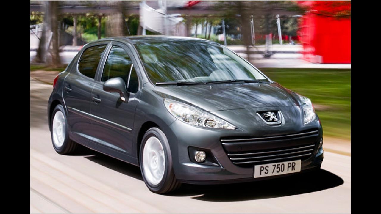 Facelift für Peugeot 207
