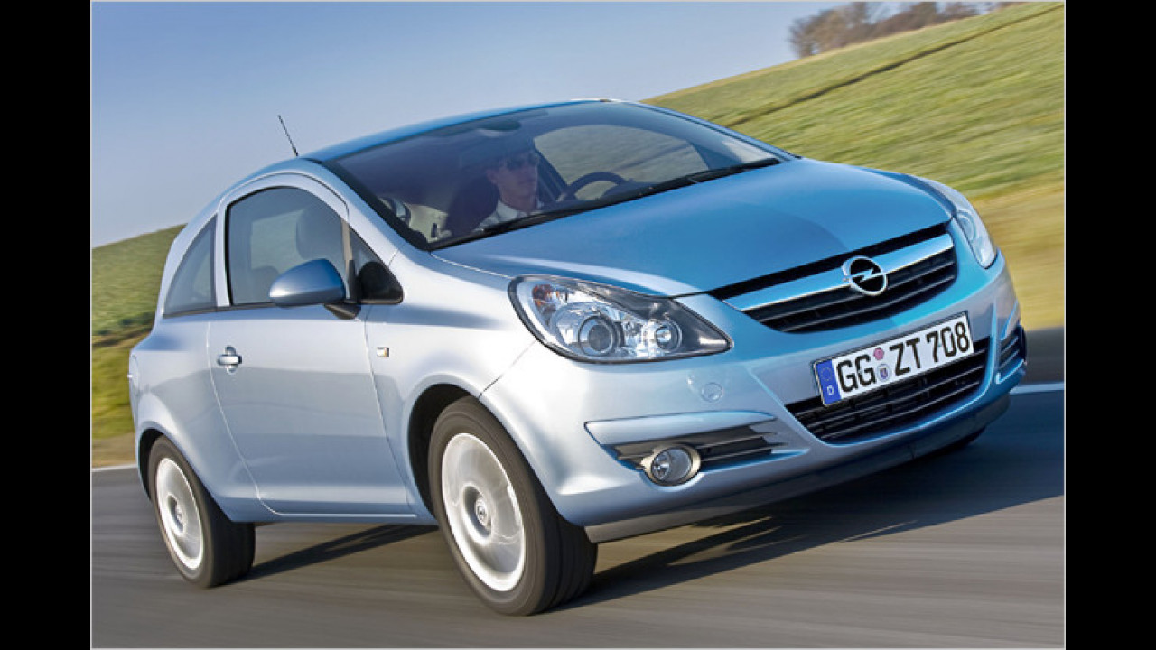 Opel Corsa 1.3 CDTI ecoFlex Selection 3-türig CO2-Paket DPF