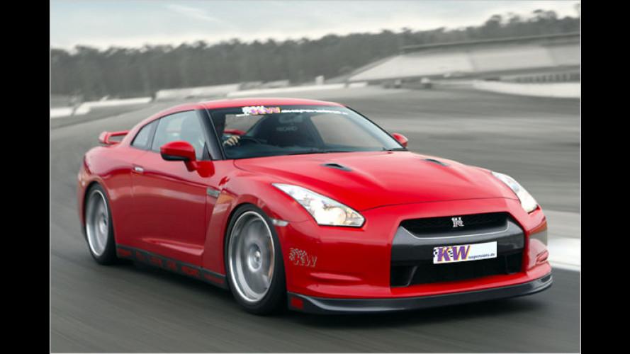 KW verwandelt den Nissan GT-R in eine Rennmaschine
