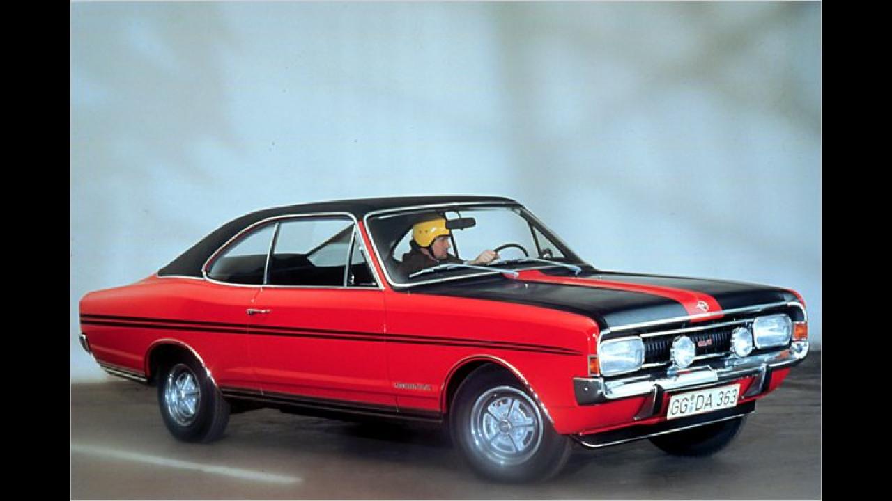 Platz 25: Opel Rekord (5,8 Prozent)