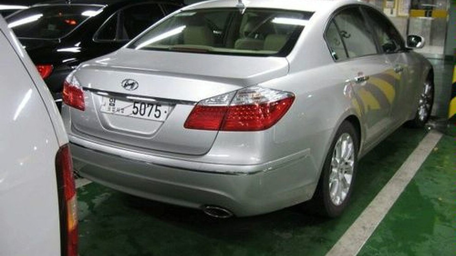 Hyundai Genesis Spied Uncovered