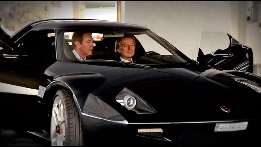 Montezemolo prova la Lancia New Stratos