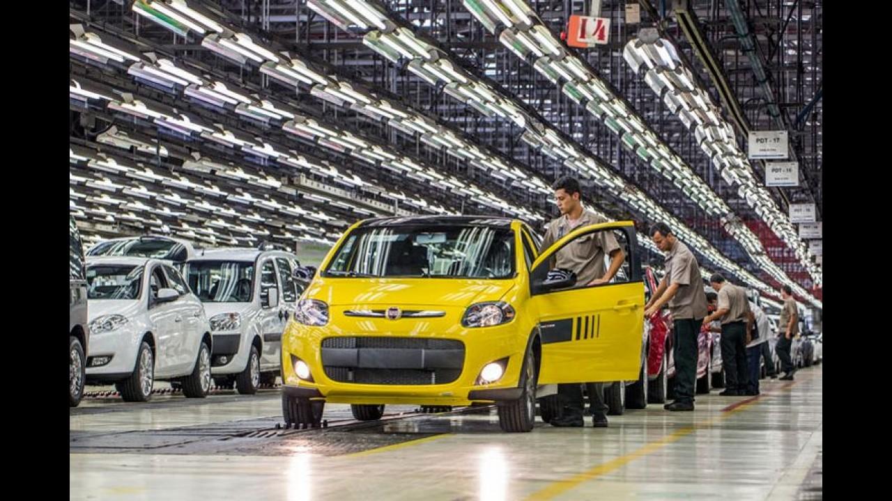 Pé no freio: Fiat vai paralisar produção em Minas Gerais por 20 dias