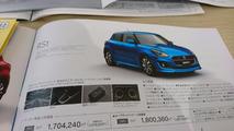 2017 Suzuki Swift Japon broşürü