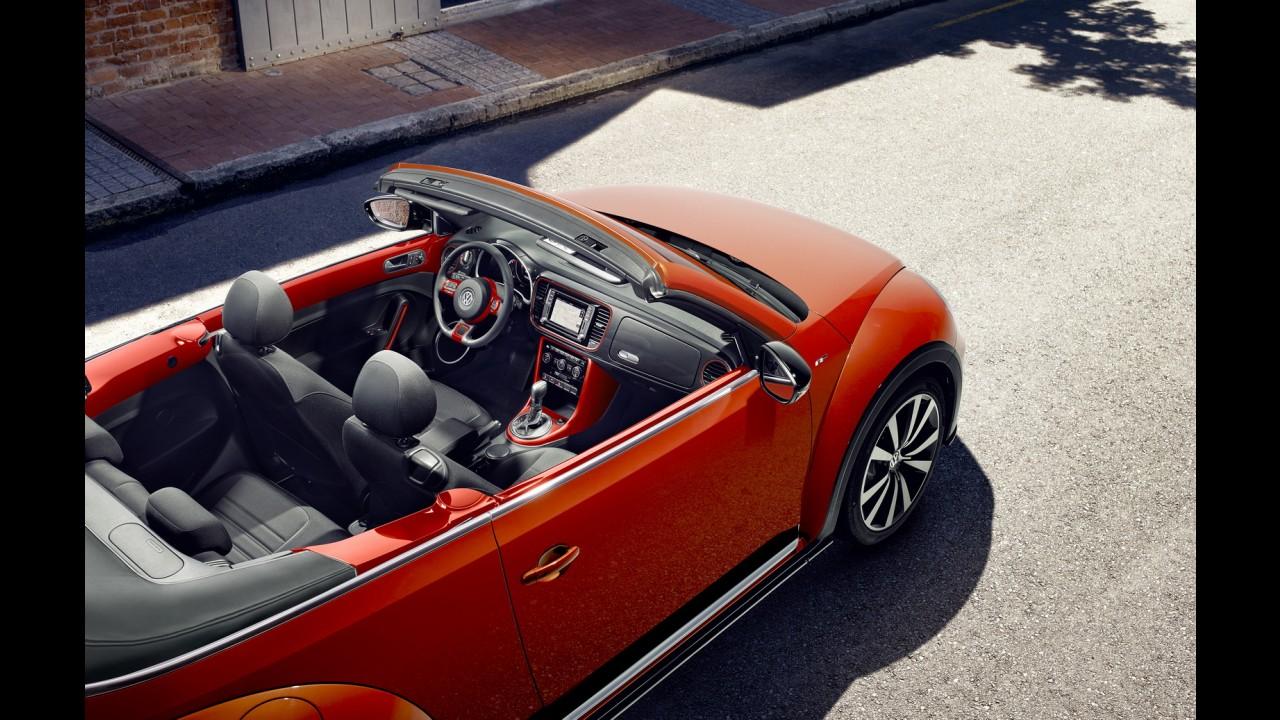 Volkswagen atualiza o novo Fusca para a linha 2017 - veja fotos