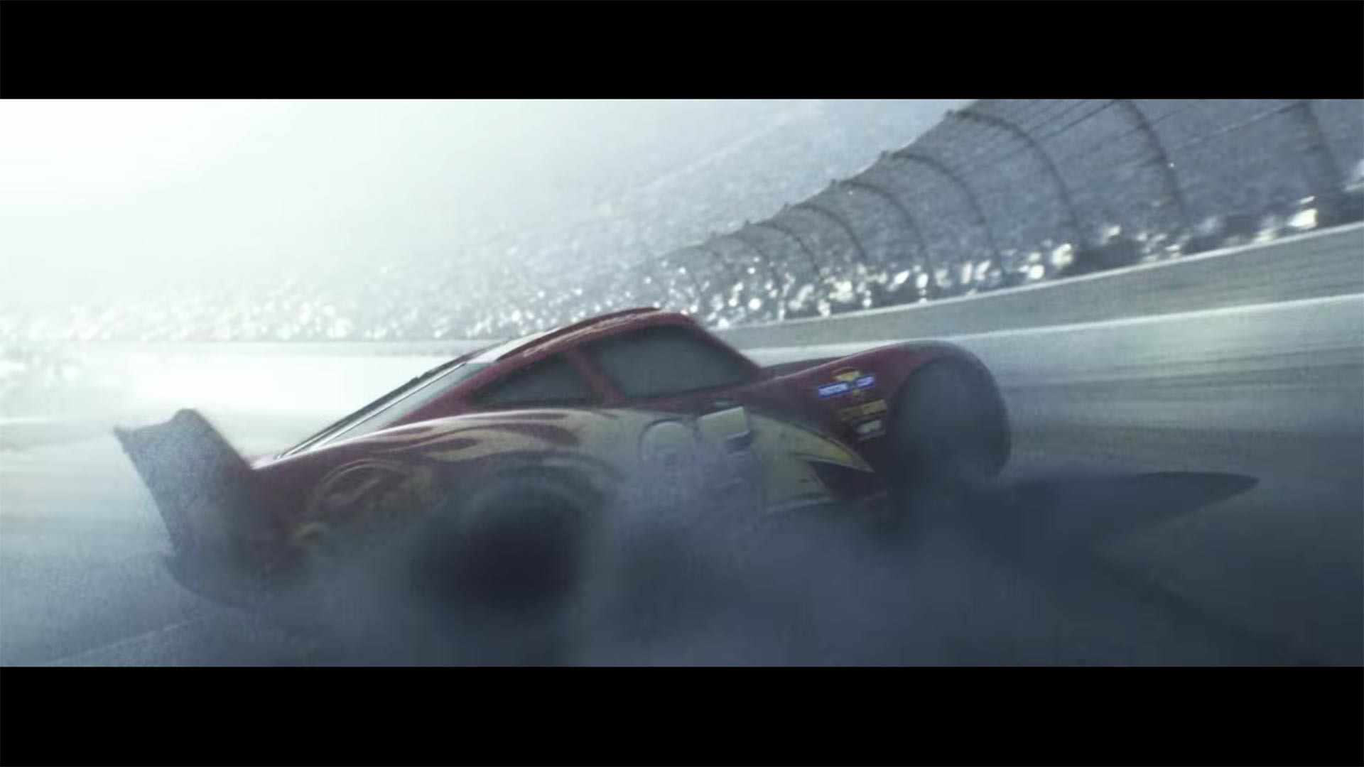Cars 3 trailer gets hearts pounding with Lightning McQueen\'s big wreck