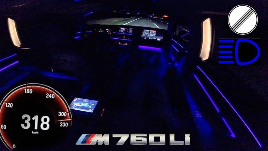 BMW M760Li xDrive: así acelera de 0 a 318 km/h