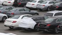Mercedes E Class Estate spy photo