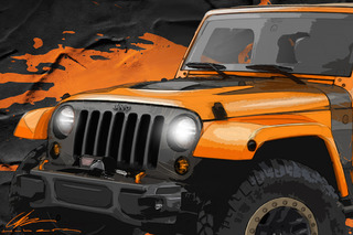 Jeep Teases Wrangler and Cherokee Customs for Moab