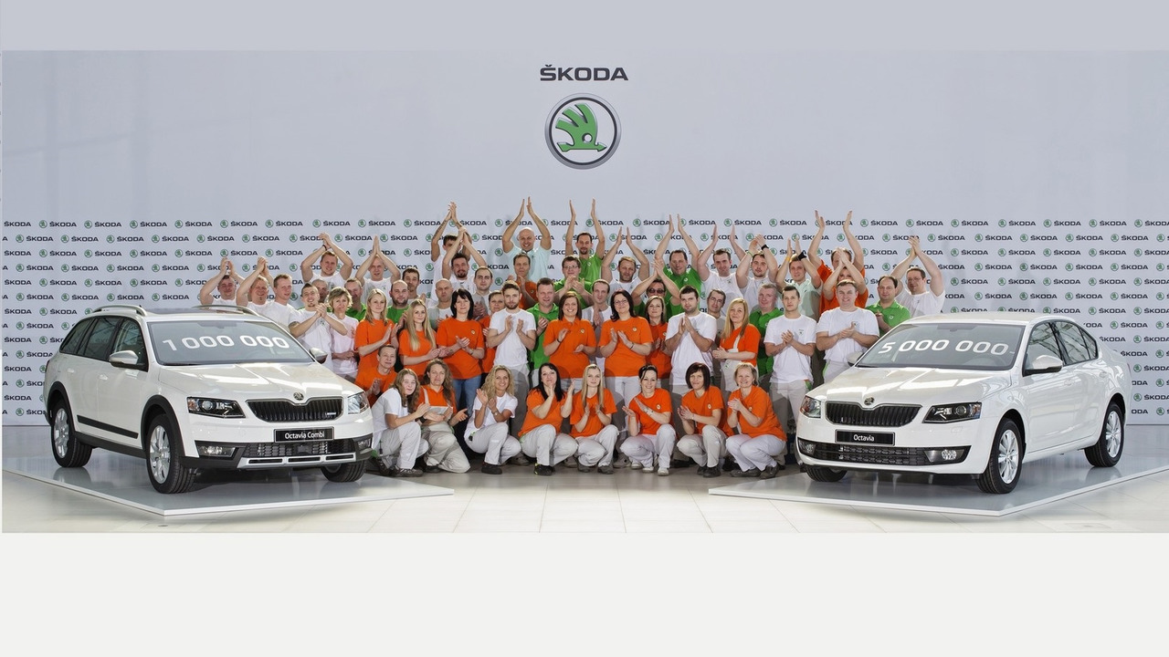 Third-gen Skoda Octavia production reaches 1M cars