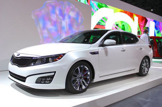 2014 Kia Optima Freshens Up Nicely