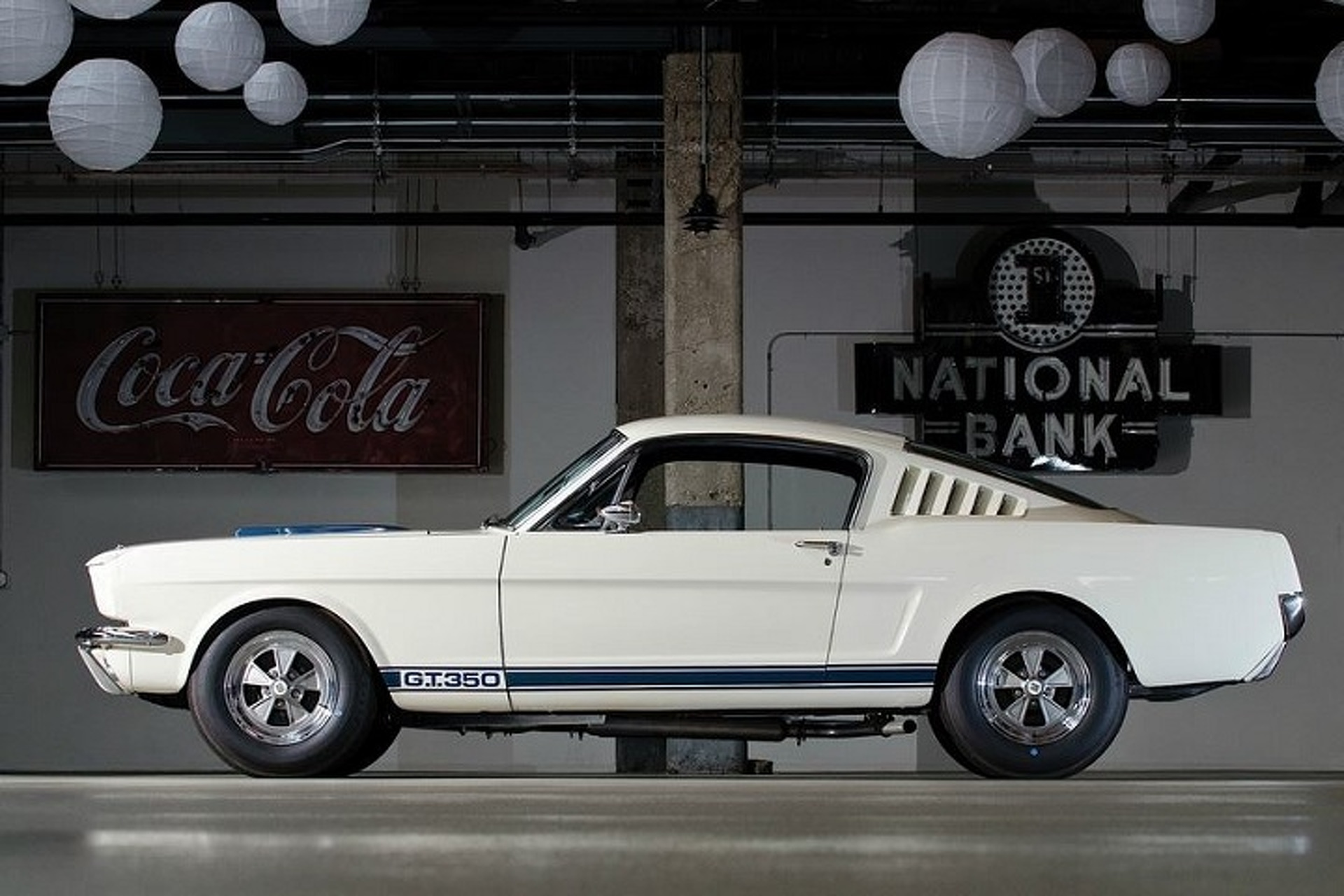 The Story Behind the Iconic 1965 Ford Mustang Shelby GT350