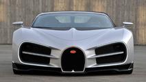 Early design version of the Bugatti Chiron