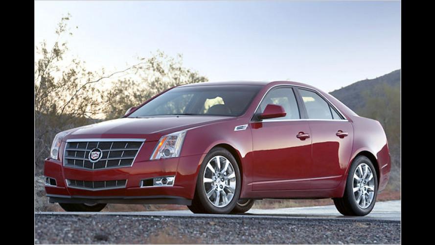 Europapremiere des Cadillac CTS auf Genfer Auto-Salon