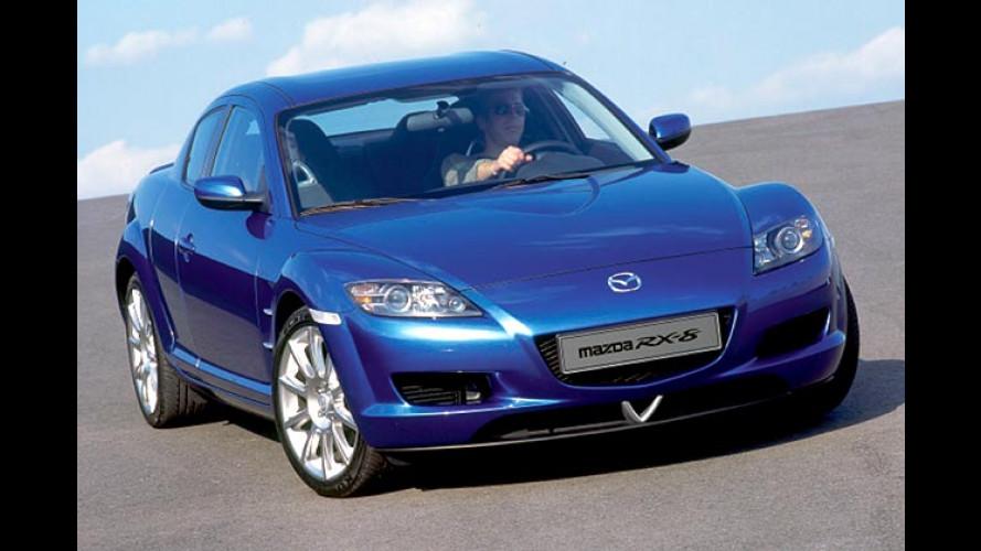 Mazda RX-8 Contest: Sonderauflage des Wankel-Sportlers