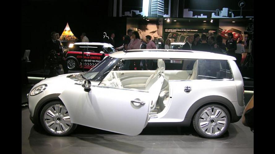 Mini Concept Frankfurt: Kultiger Mini mit Maxi-Ladeabteil