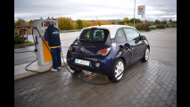 Opel Adam GPL Tech, test di consumo