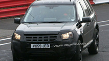 Land Rover LRX Test Mule Spy Photo