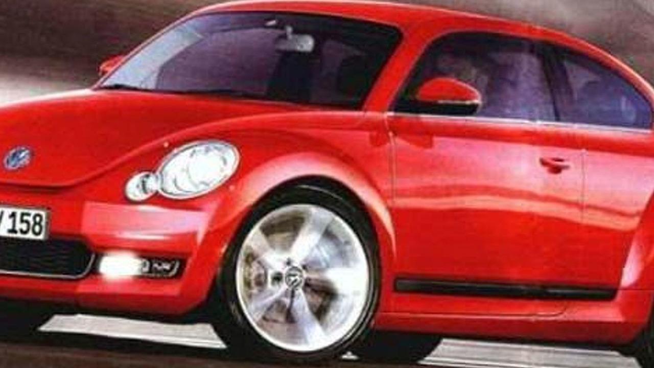 2013 VW Beetle Rendered Speculation - 650 - 02.02.2010