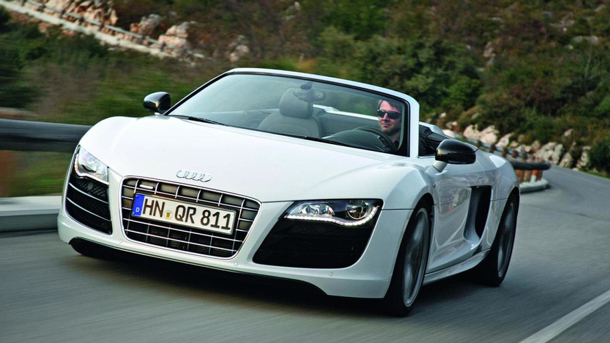 Audi R8 Spyder now available with 4.2 FSI V8 engine