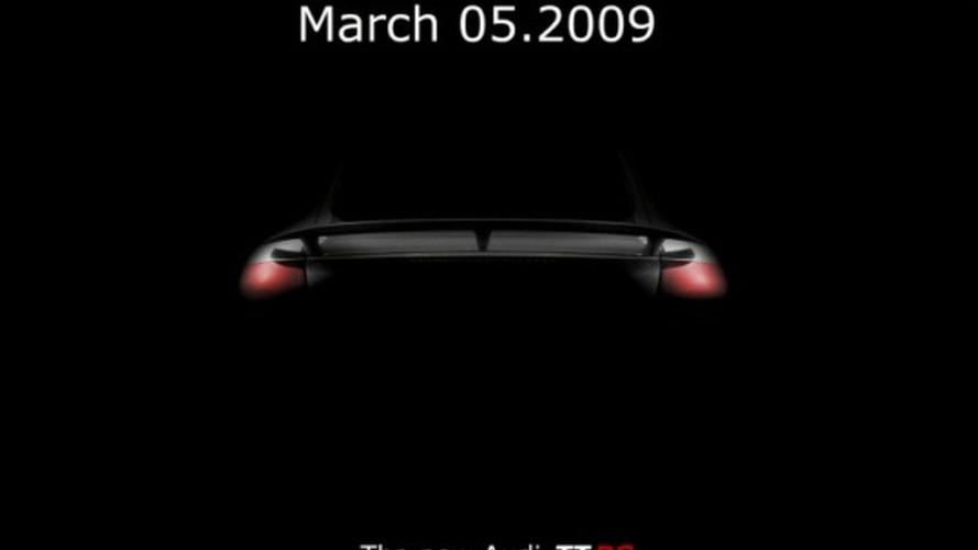 Fraudulent Audi TT-RS Teaser Image Dead Before Surfacing