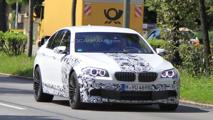 2012 BMW M5 prototype - 30 minutes of raw footage [video]