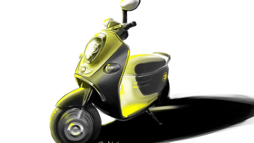 MINI and Smart electric scooter concepts set for Paris - first sketches