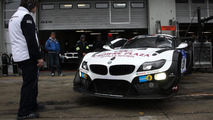 BMW Z4 GT3 with laser headlights
