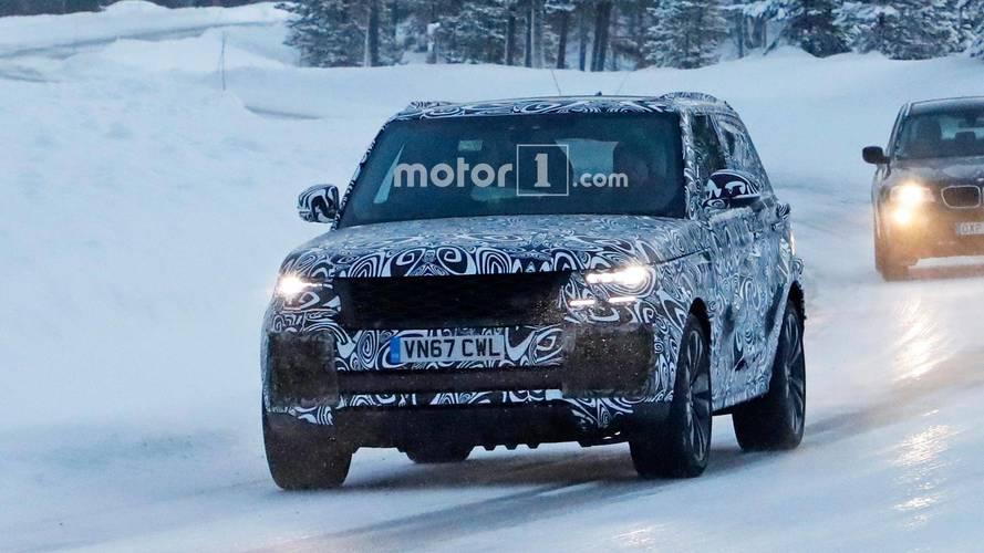 Land Rover Range Rover Coupe casus fotoğraflar