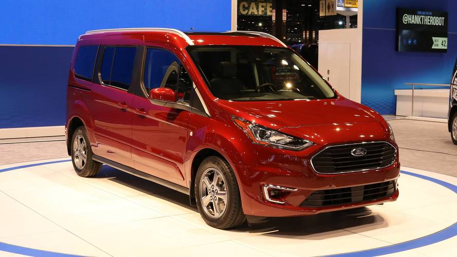 2019 Ford Transit Connect Wagon Has More Tech, New Diesel Engine