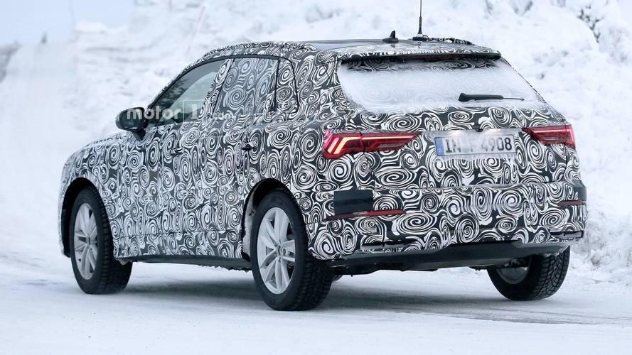 2018 Audi Q3 şık arka farlarını sergiliyor