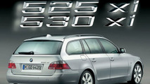 BMW 5 Series Touring with xDrive