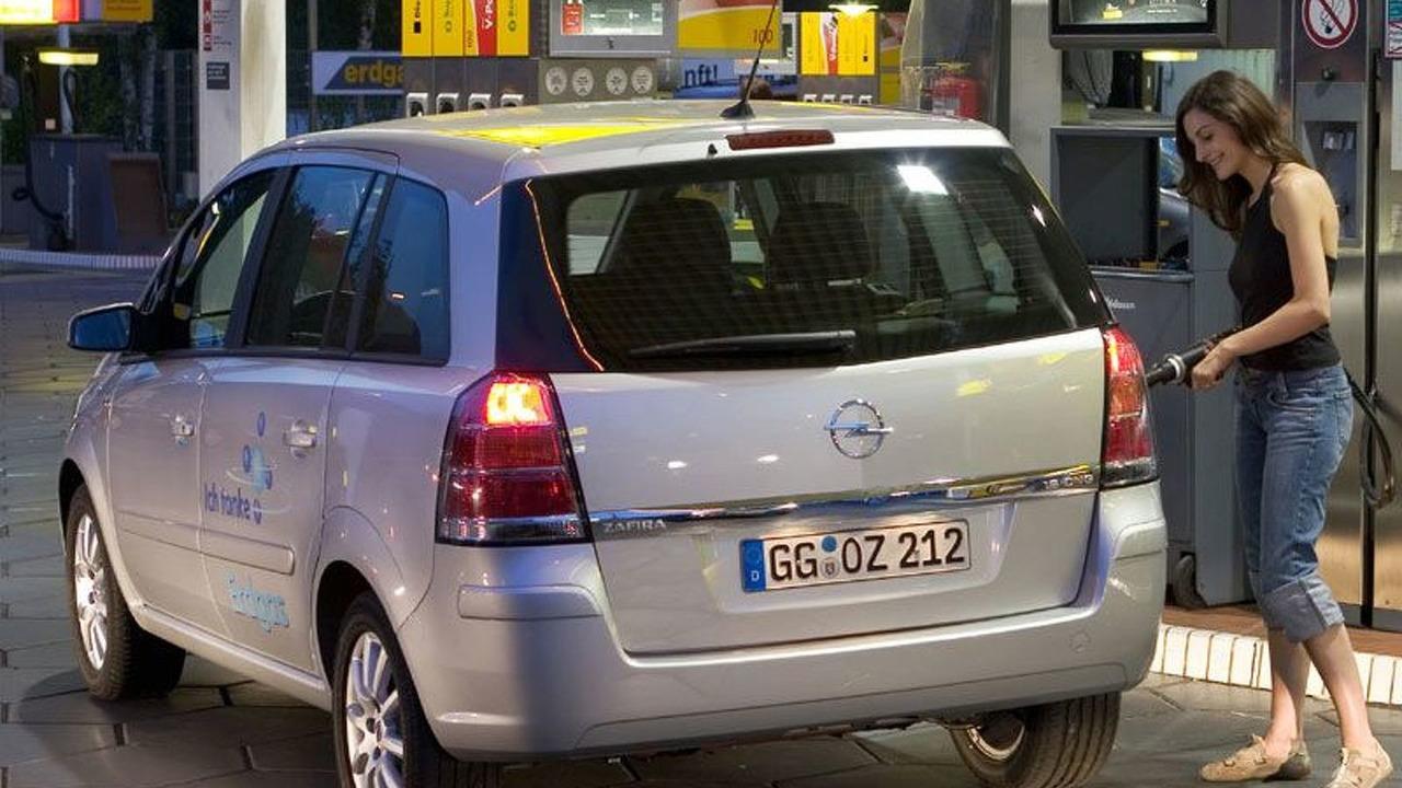 New Opel Zafira CNG