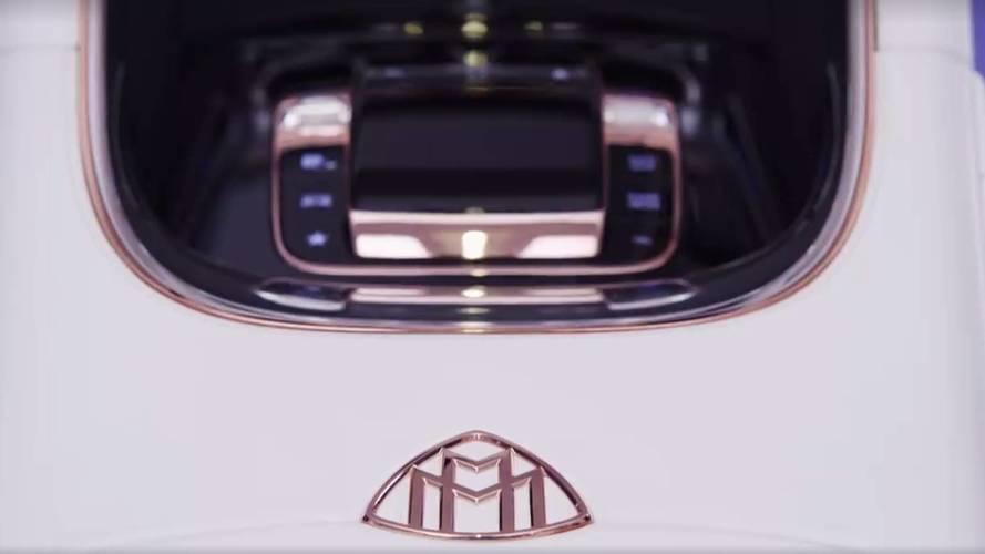 Mercedes-Maybach, yeni lüks konseptinin teaser videosu yayınladı