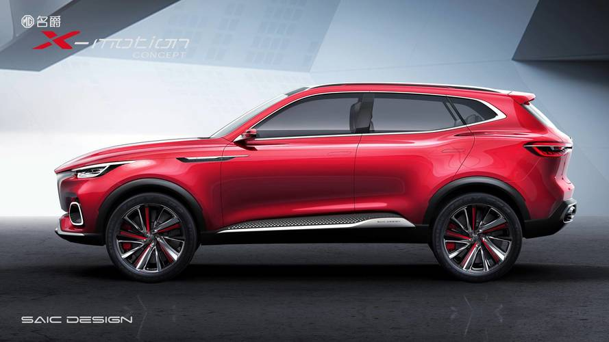 MG reveals new X-motion concept in Beijing