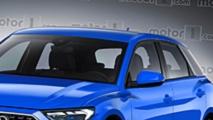Nuova Audi A1 Sportback, il rendering