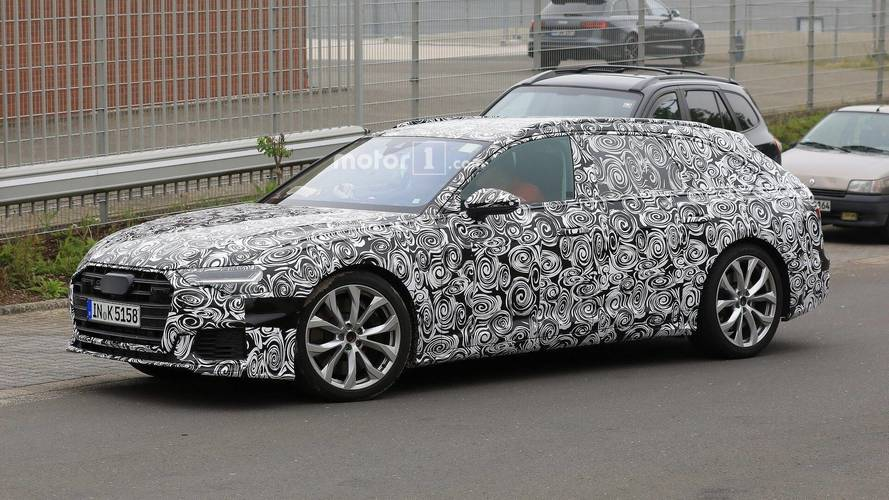 Yeni Audi S6 Avant, bol kamuflajlı olarak görüntülendi