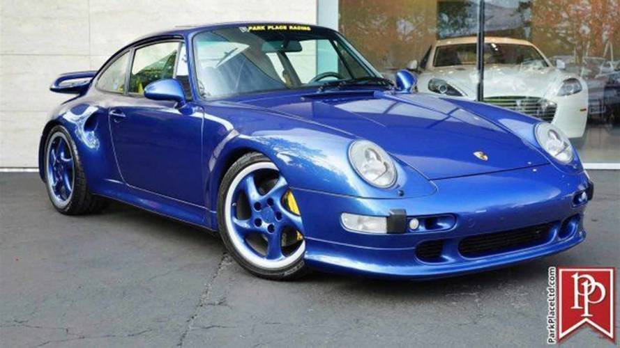 Rare 1997 911 Turbo S Is For Sale, Would Never Make You Feel Blue