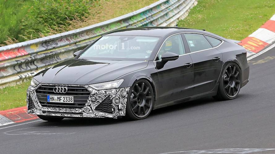 New Audi RS7 Sportback Spied Looking Fierce At The Nurburgring