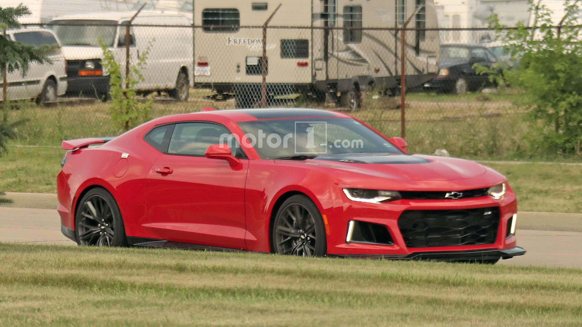 2019 chevy camaro zl1 spied completely uncovered voltagebd Image collections