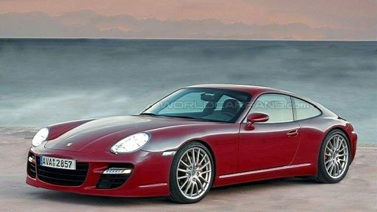 New Porsche 928 Coupe computer rendering