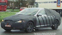 New Jaguar XF spy