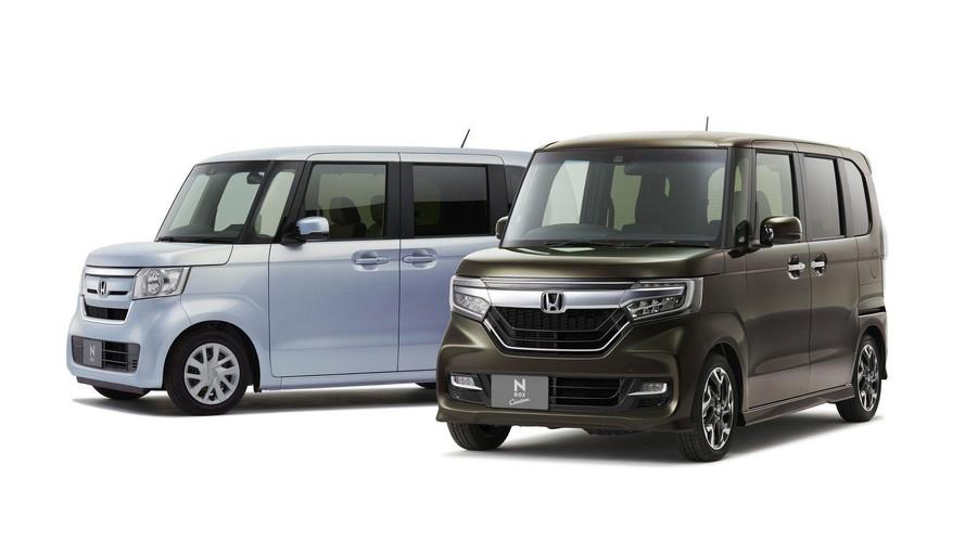 Yeni Honda N-Box Japonya için tanıtıldı