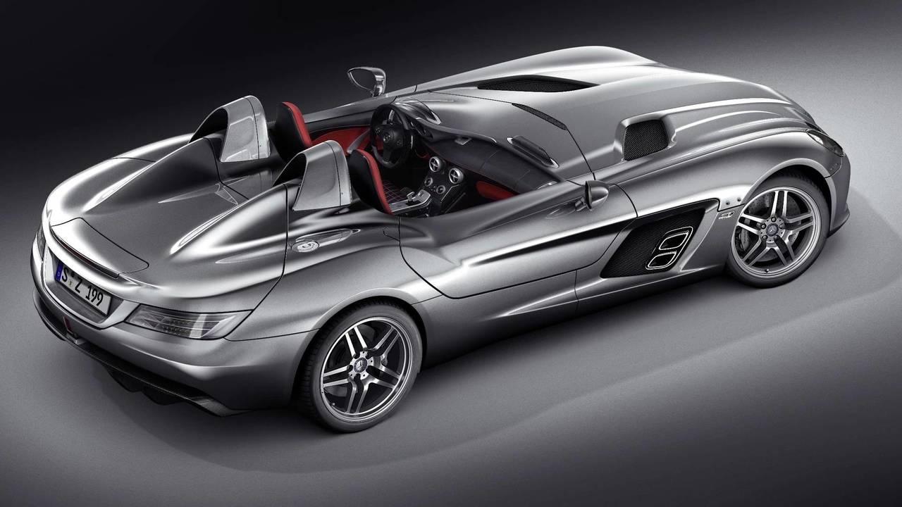 Mercedes McLaren SLR Stirling Moss –220mph