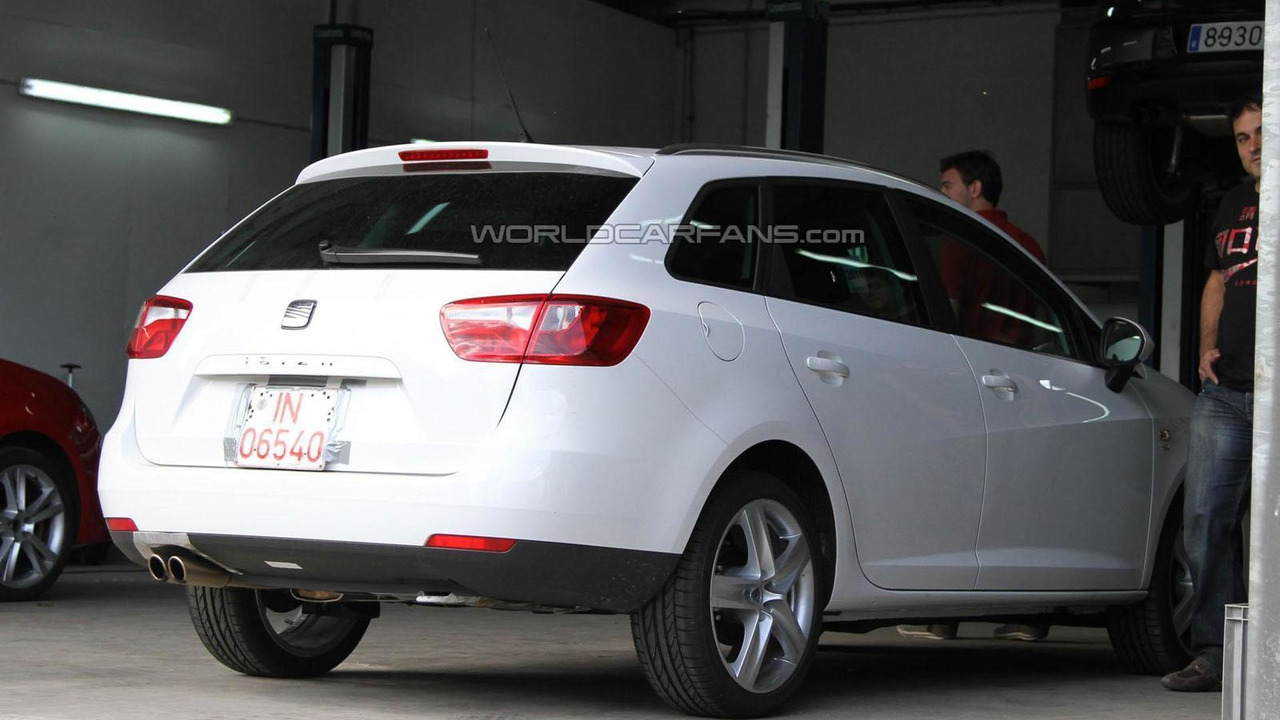Seat Ibiza ST FR spy photos - 8.7.2011