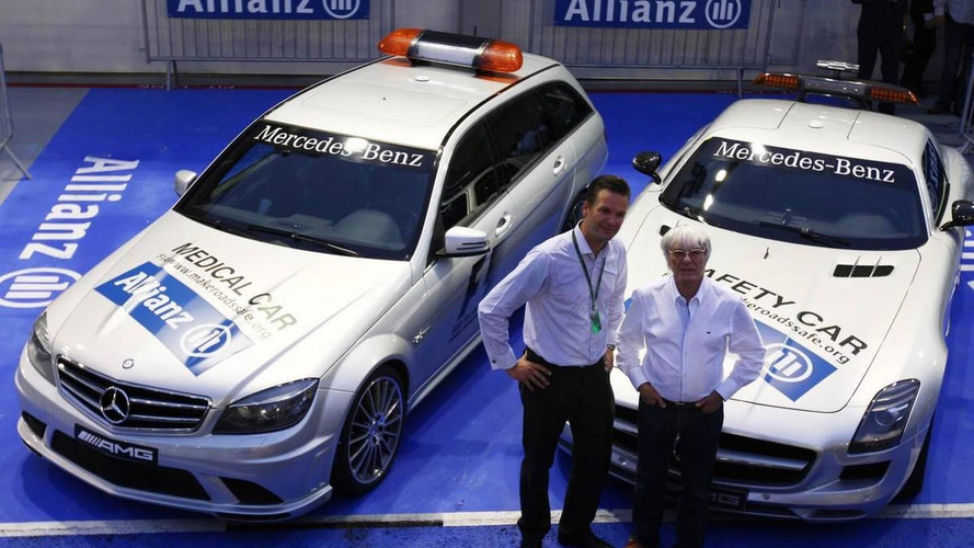 Sponsor logo added to F1 safety car