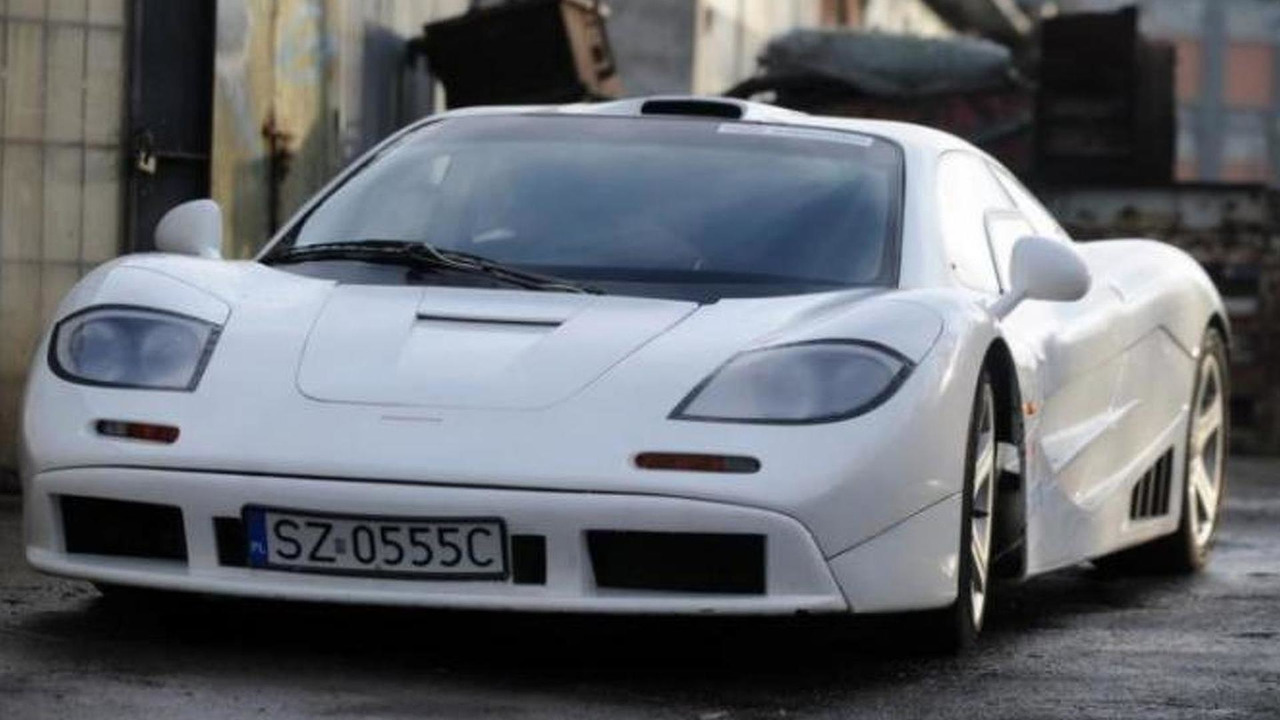 McLaren F1 replica from Poland